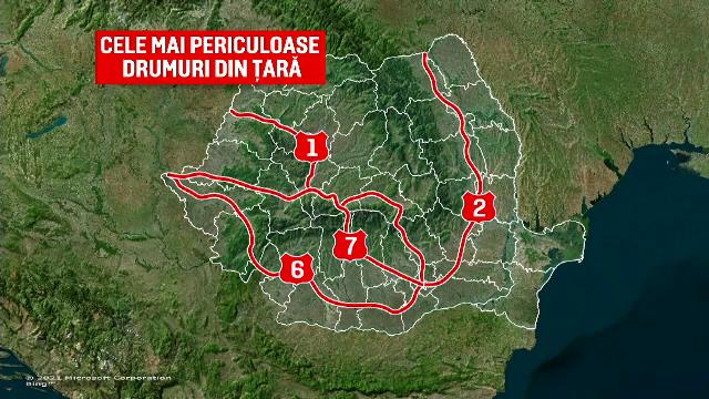 """Operațiunea """"O zi fără morți în accidente rutiere"""". Mii de agenți au dat amenzi pe cele mai periculoase străzi din România"""