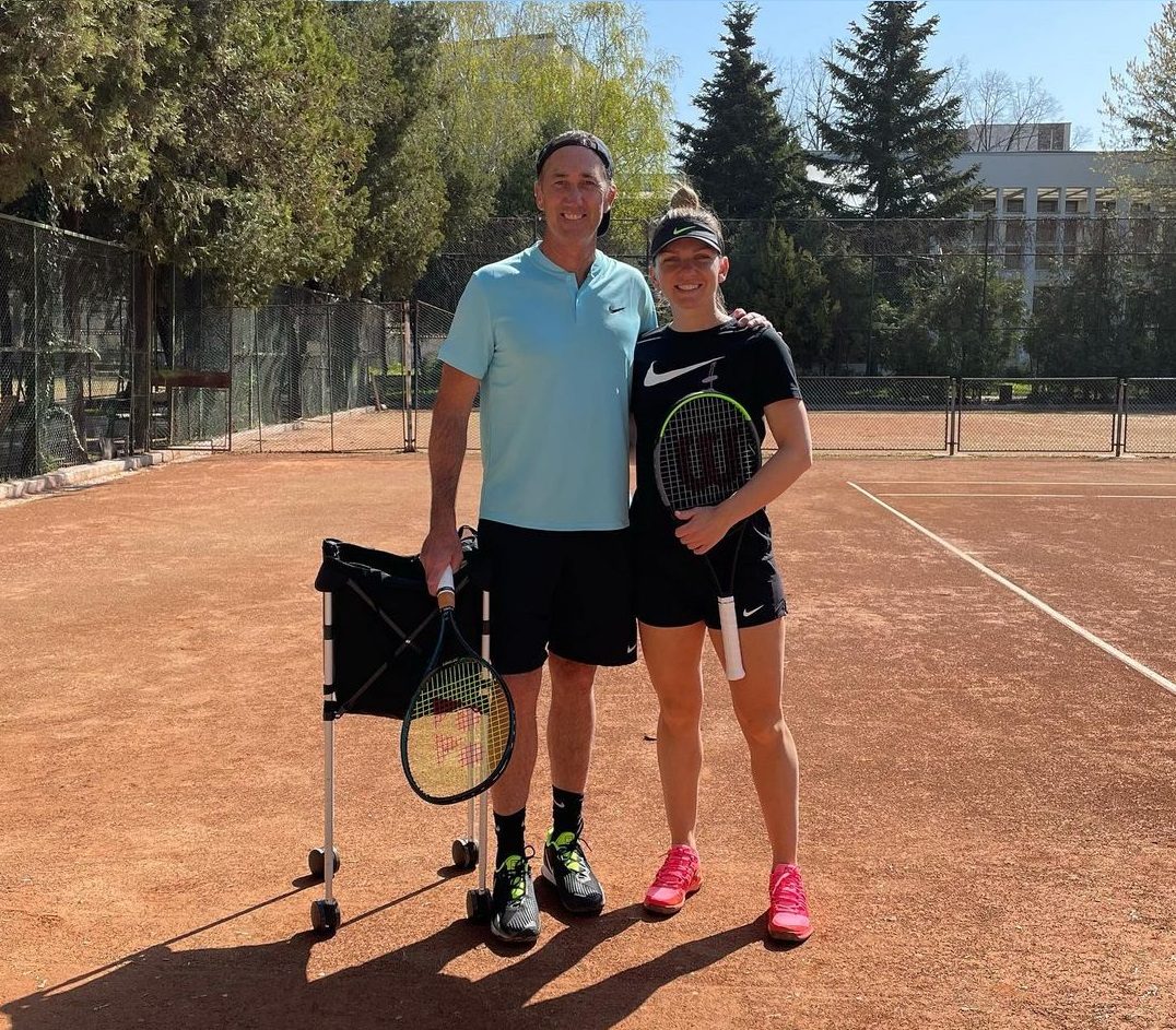 """Simona Halep anunță încheierea colaborării cu antrenorul Darren Cahill. """"Îţi mulţumesc D pentru tot"""""""