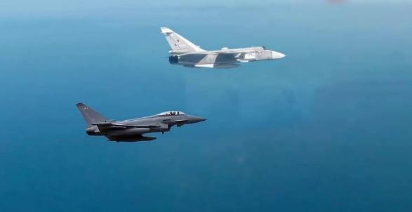Două avioane militare rușești au fost interceptate în apropierea spaţiului aerian al României