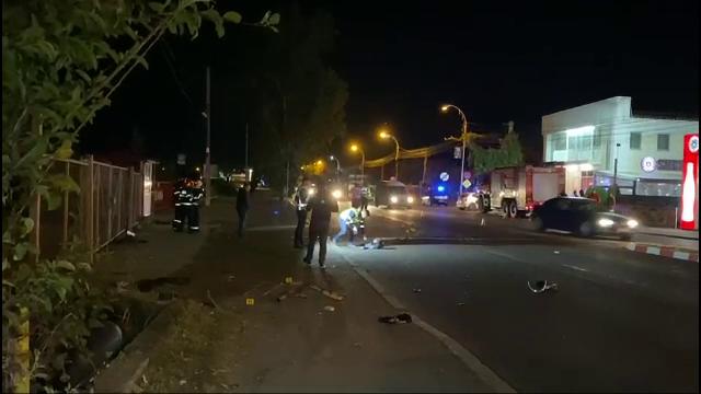 Un motociclist și-a pierdut viața după ce s-a izbit violent de o mașină, în Târgoviște