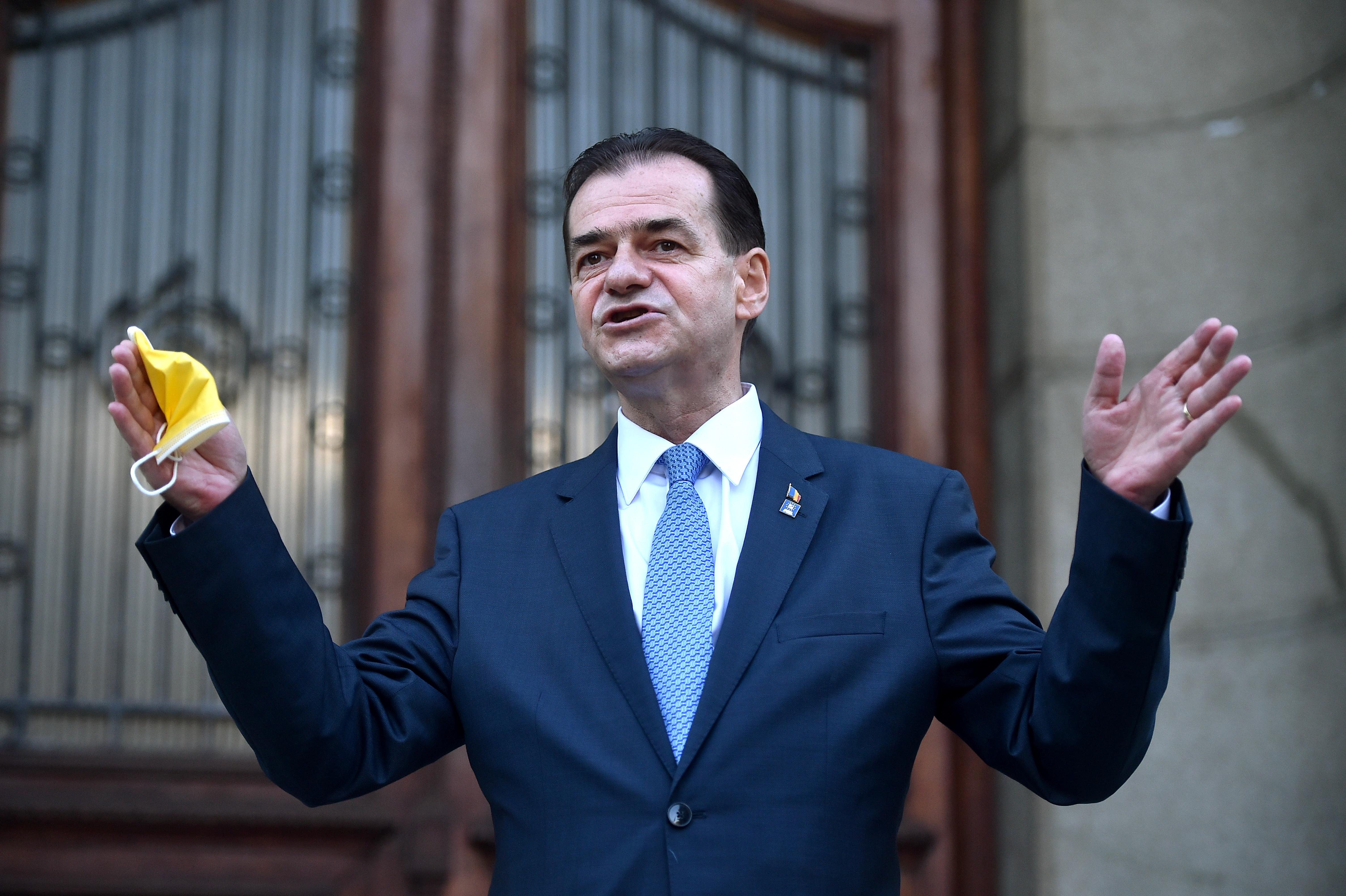 Ludovic Orban: Dacă-l va desemna premier pe Florin Cîţu, Iohannis va încălca o decizie a CCR