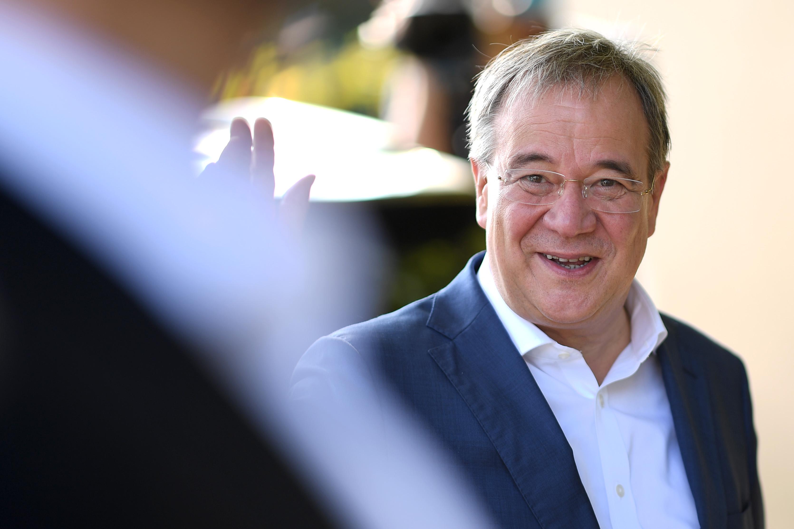 Alegeri în Germania: Candidatul conservator Armin Laschet a comis o gafă la vot
