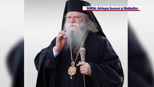 Arhiepiscopul Calinic al Sucevei și Rădăuților are Covid 19. BOR a confirmat abia după două săptămâni