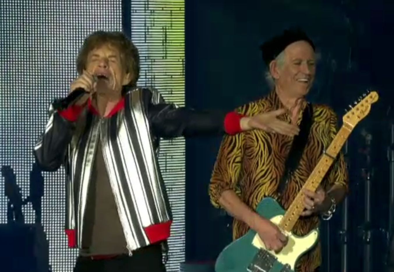 "Primul concert ""The Rolling Stones"" din turneul ''No Filter''. Omagiu adus bateristului Charlie Watts"