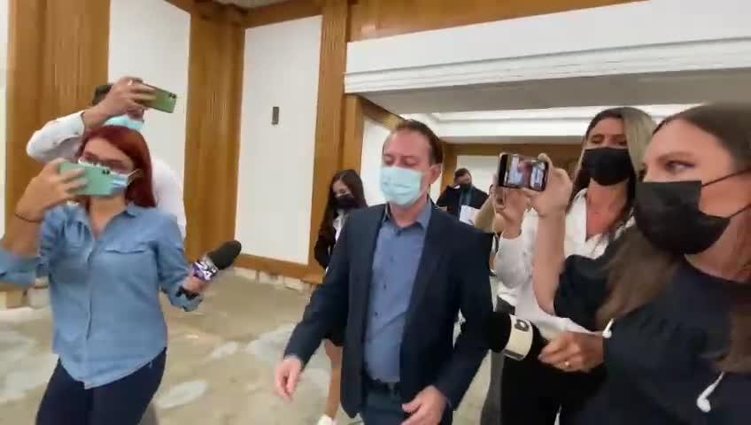 VIDEO. Cîțu a plecat nervos dintr-o conferință de presă, după doar 3 minute. Explicația ulterioară a Guvernului