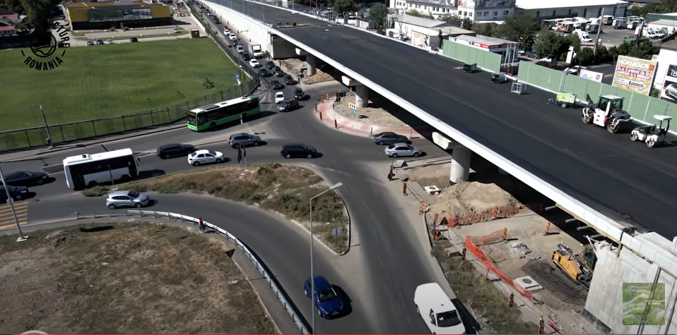 CNAIR deschide traficul rutier pe Pasajul Mogoşoaia. Proiectul a costat 33 milioane de lei