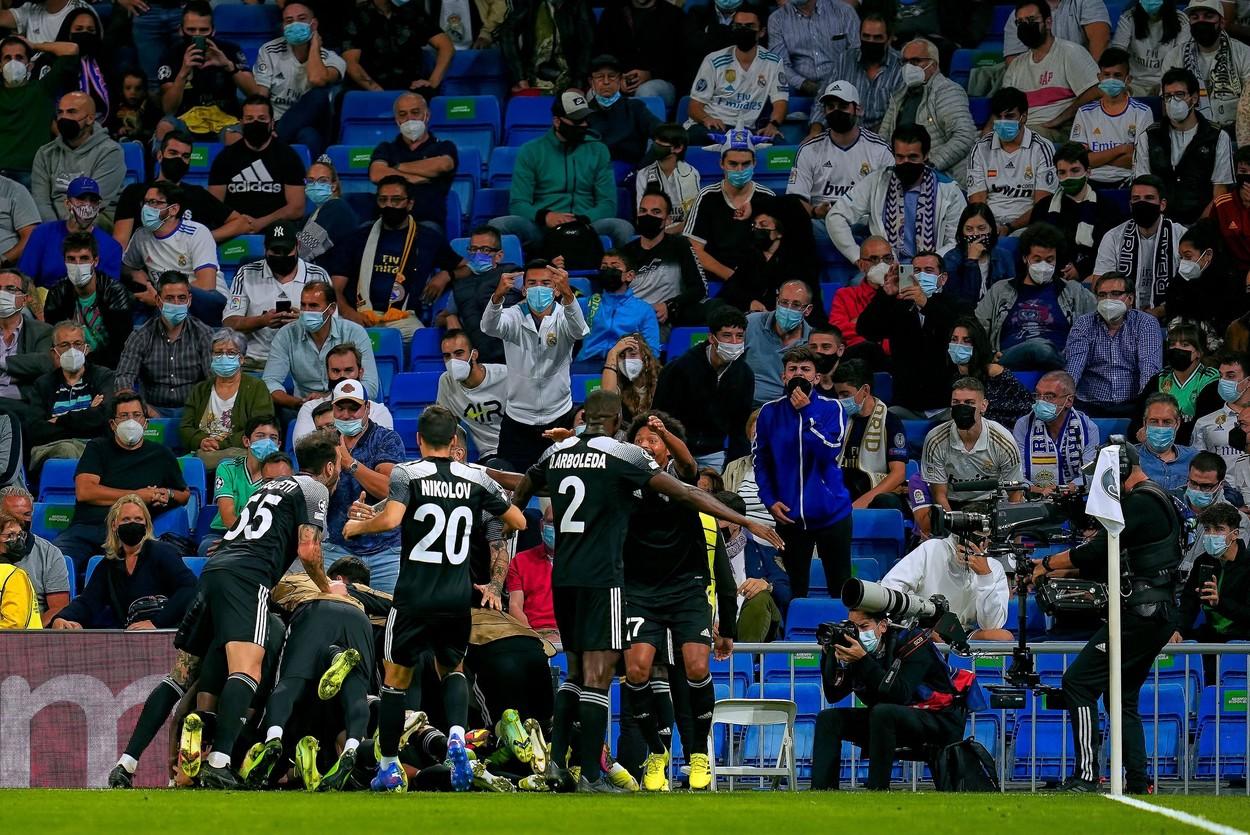 Cum a ironizat-o Sheriff Tiraspol pe Real Madrid după victoria răsunătoare din Liga Campionilor