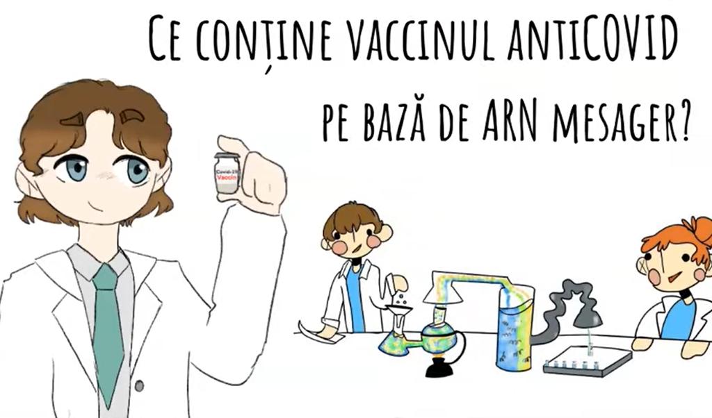 Ce conține vaccinul ARN mesager. RO Vaccinare: apă, săruri, oțet