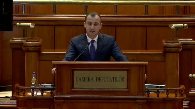 """Moțiunea de cenzură """"Jos Guvernul Cîțu"""", inițiată de PSD, a fost prezentată în Parlament"""