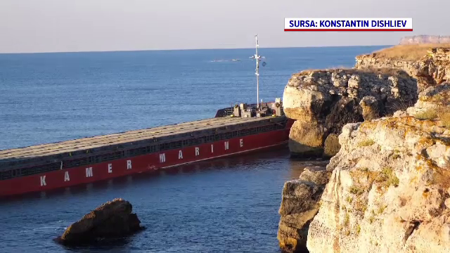 Pericol de catastrofă ecologică în Marea Neagră. Mii de tone de uree riscă să ajungă în apă, la 60 de km de Vama veche